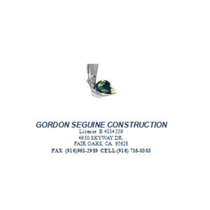 Gordon Seguine Construction